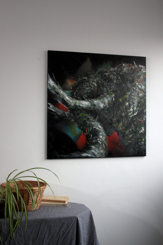 Tableau original - Eléphant