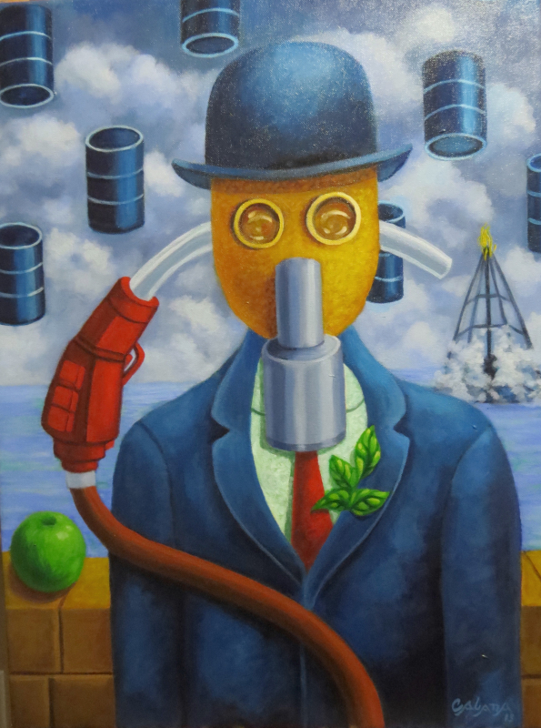 dommage à Magritte