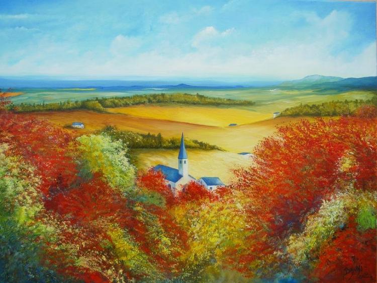 Couleurs d'automne en Bourgogne