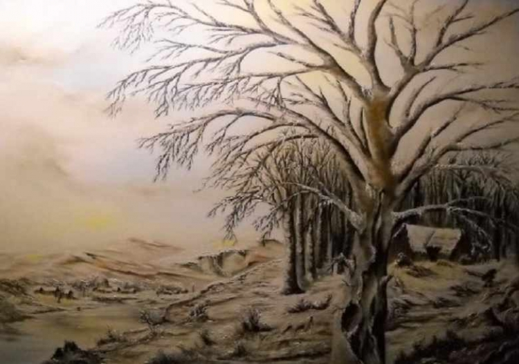 Blancheur hivernale