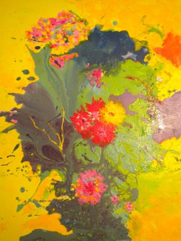 Impérial Violette 12 Figure 61 x 50 cm