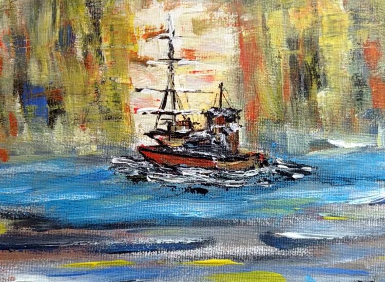 Bateau et voilier