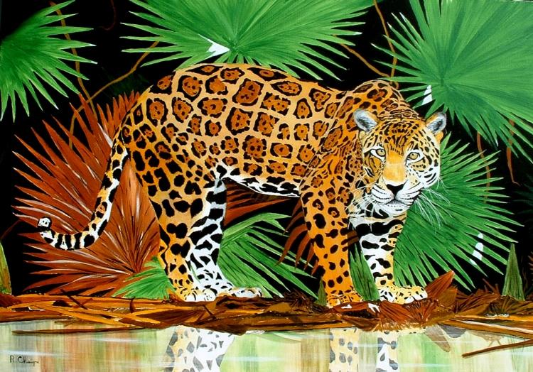 le jaguar d'amazonie