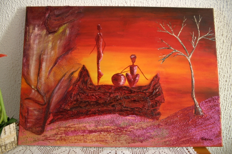 Crépuscule africain