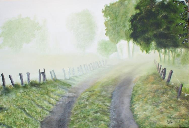 Jour et brouillard