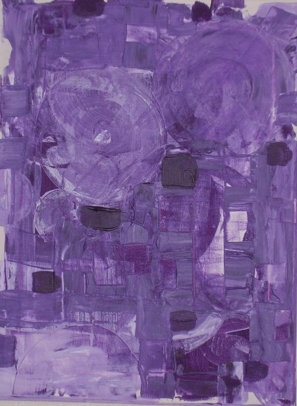 Violet voilé