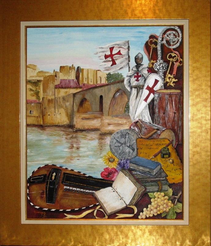 Templier en Avignon