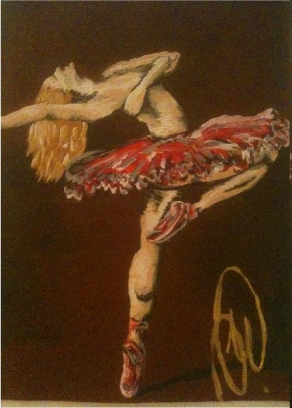 danseuse tres sportif