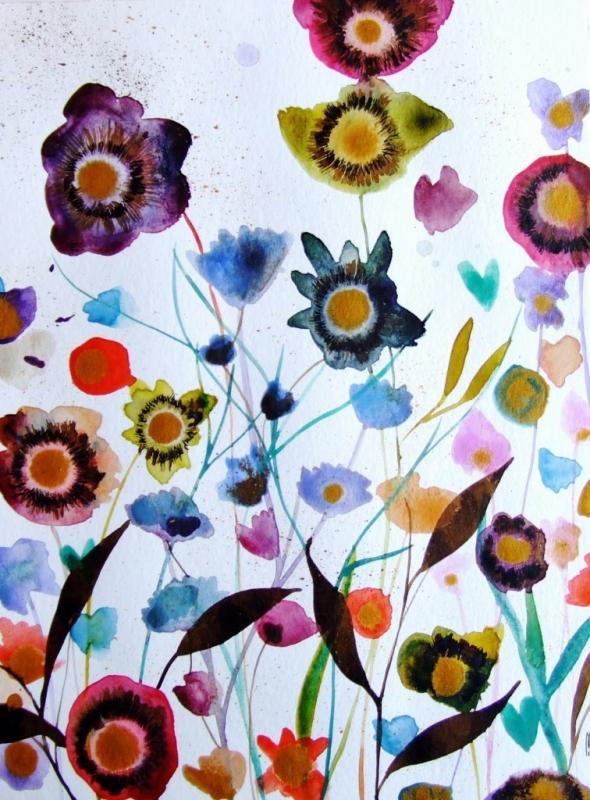 Fleurs Jardin Botanique Art
