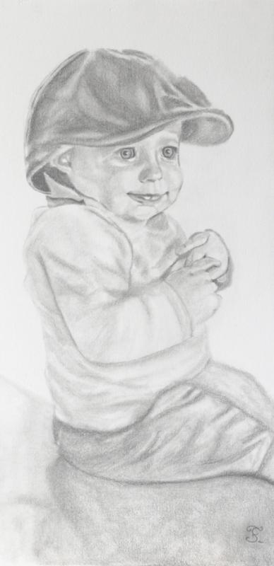 Petit garçon à la casquette