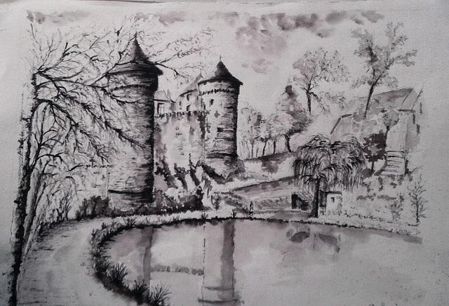 Le chateau de lassay