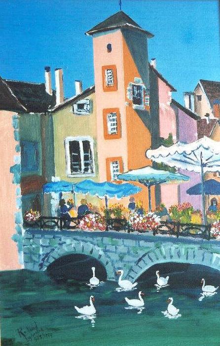 Le Pont Morand, Annecy