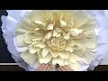 Tuto DIY : Une pivoine en papier crépon