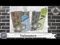 """Vidéo-Tuto """"Carte Naissance * Faire-Part ou Félicitations"""" par Coul'Heure Papier"""
