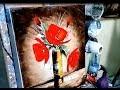 """PEINTURE AU COUTEAU FACILE """"LE BOUQUET CONTEMPORAIN"""" par Nelly LESTRADE"""