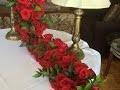 Comment faire une guirlande comme centre de table pour mariage