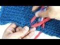 #Tricot - La couture invisible pour le point jersey à l'horizontale