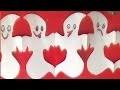 Guirlande de fantômes | Activités de bricolage pour Halloween