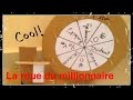 Comment fabriquer la roue du millionnaire