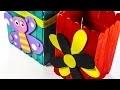 Comment faire une boîte décorative avec des bâtons de glace
