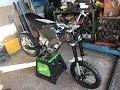 moto électrique fait Maison