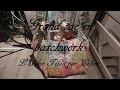 couture sac cabas bag patchwork 9 blocs avec des chutes de tissus tilda