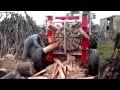 Machine incroyable pour couper le bois!