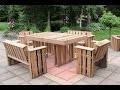 Fabriquer du mobilier de palettes | Cours en ligne avec Denis Fortin