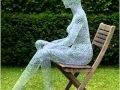 Sculptures grillagées