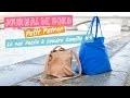 Journal de bord Petit Patron #5 : Coudre un sac facile, le sac Camille (reupload)