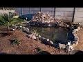 [vlog] construction bassin pour carpe koi