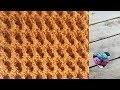 Point crochet effet 3D magnifique