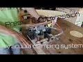 Travail du bois - Une presse à dépression DIY / vacuum clamping system