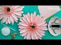 DIY tutoriel fleur en papier marguerite, DIY Daisy Paper Flower Tutoriel - Mlle Artsy