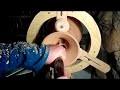 Tournage sur bois vase XL MJ-CREATION