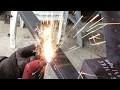 Fabriquer un escalier. Fabrication d'un petit escalier métallique avec son garde-corps. DIY