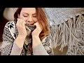DIY -  Le tuto cosy ! Comment coudre un poncho pour l'hiver | Tutoriel couture facile cadeau de Noël