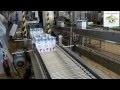 """Empaquetage a l'usine LSDH  des premières briques de lait équitable  """" FAIREFRANCE """""""