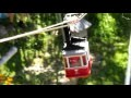 Téléphérique miniature automatisé - Premier essais