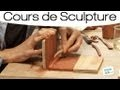 Sculpter un objet en plaque de terre