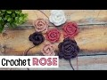 Quick & Easy Crochet Rose | Sewrella