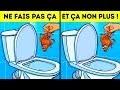 12 Choses Que tu ne Devrais Jamais Jeter Dans Les Toilettes