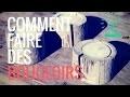 Comment faire des Bougeoirs en bois se�che� - EP29