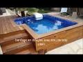 construction d une petite piscine