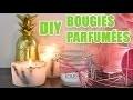 3 idées pour fabriquer des bougies parfumées - DIY avec youMAKEfashion