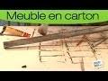 Fabriquer un meuble en carton : fabriquer une verrière