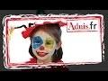 Instructions pour maquillage clown