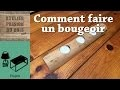 Comment faire un bougeoir   How to make a candlestick