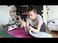 Tuto couture : la jupe longue et courte simplissime!