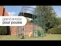 Grand enclos pour poules Omlet - Comment protéger vos poules des prédateurs? (Solution)